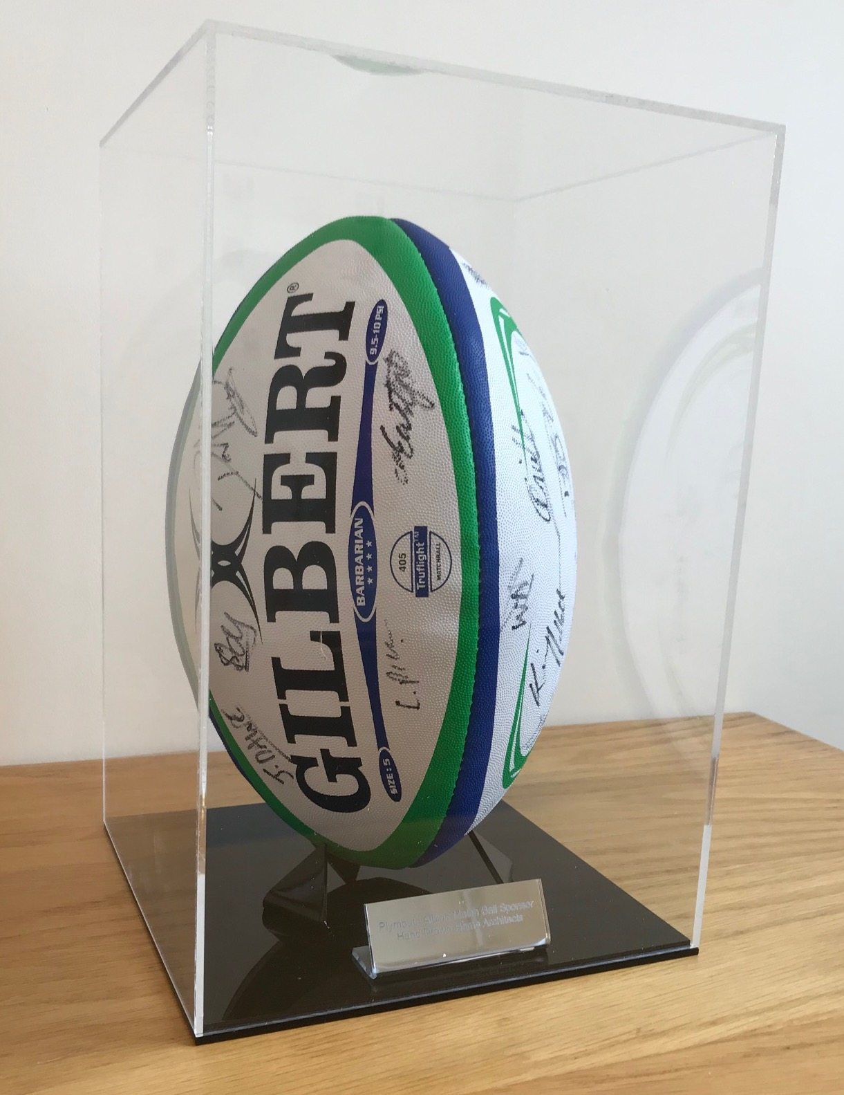 Plymouth Albion Ball Sponsor